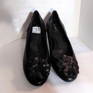 BOC Emalia Comfort Footbed Blk Ballet Flats SZ 11